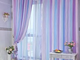 简欧风格阳台装修效果图-简欧风格窗帘杆图片