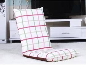 现代风格客厅装修效果图-现代风格红绿格懒人沙发图片