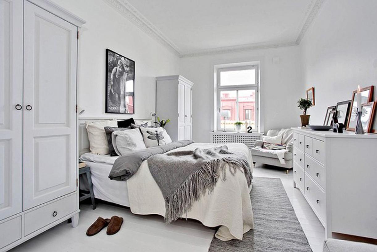 北欧风格卧室装修效果图北欧风格卧室衣柜图片