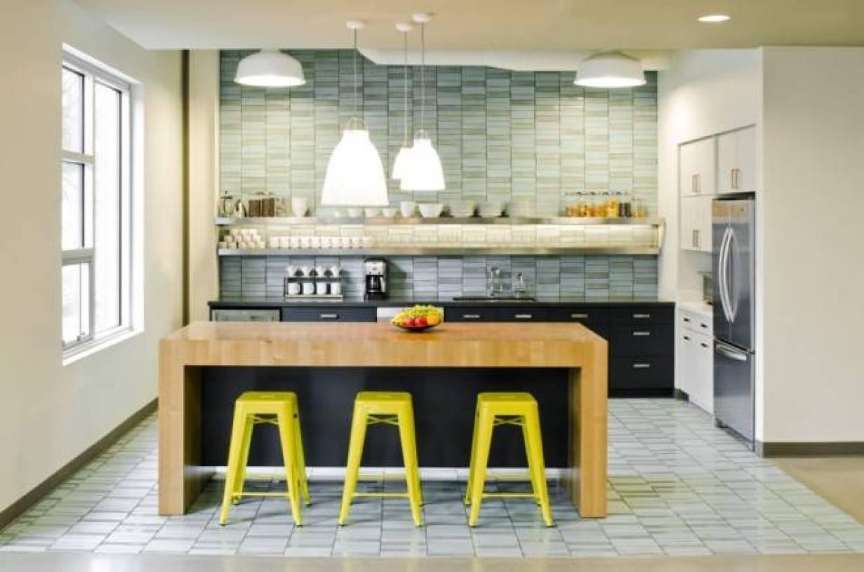 现代风格办公室就餐区吧台设计图片-现代风格吧台椅图片图片