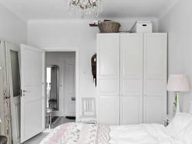 简约风格卧室装修图片-简约风格实木家具衣柜图片