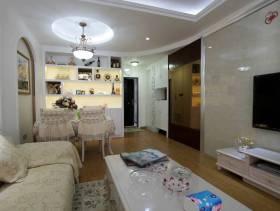 欧式风格客厅电视背景墙装修图片-欧式风格电视柜图片