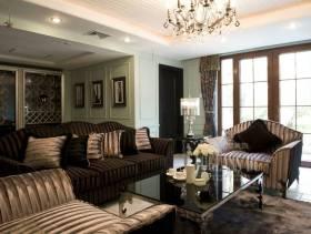 新古典风格起居室装修欣赏
