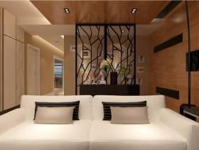 现代客厅玄关装修效果图