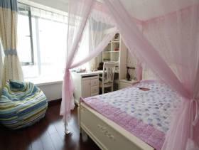 三居136平米欧式风格儿童卧室装修图片,三居136平米欧式风格书柜图片