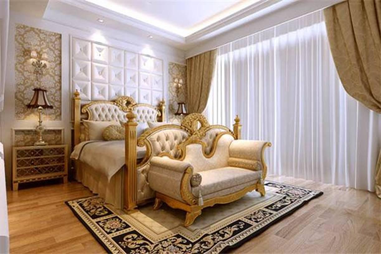 欧式风格主卧室装修效果图