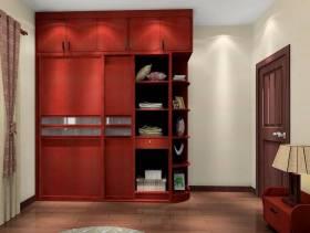现代风格实木衣柜装修效果图