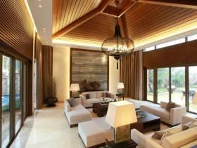 现代风格客厅吊顶装修效果图-现代风格沙发图片