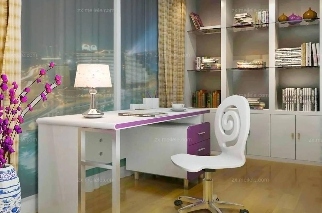 创意小书房 现代家居设计必备(面积约7.5平米)
