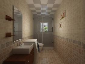 现代风格卫生间装修效果图