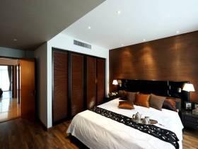 现代中式风格卧室图片装修图片