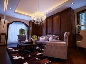 欧式风格起居室效果图