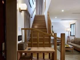 简约风格复式楼梯装修图片