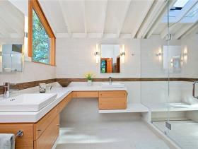 阁楼规划小卧室 原木风格复式三居室