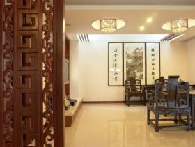 中式二层起居室图片
