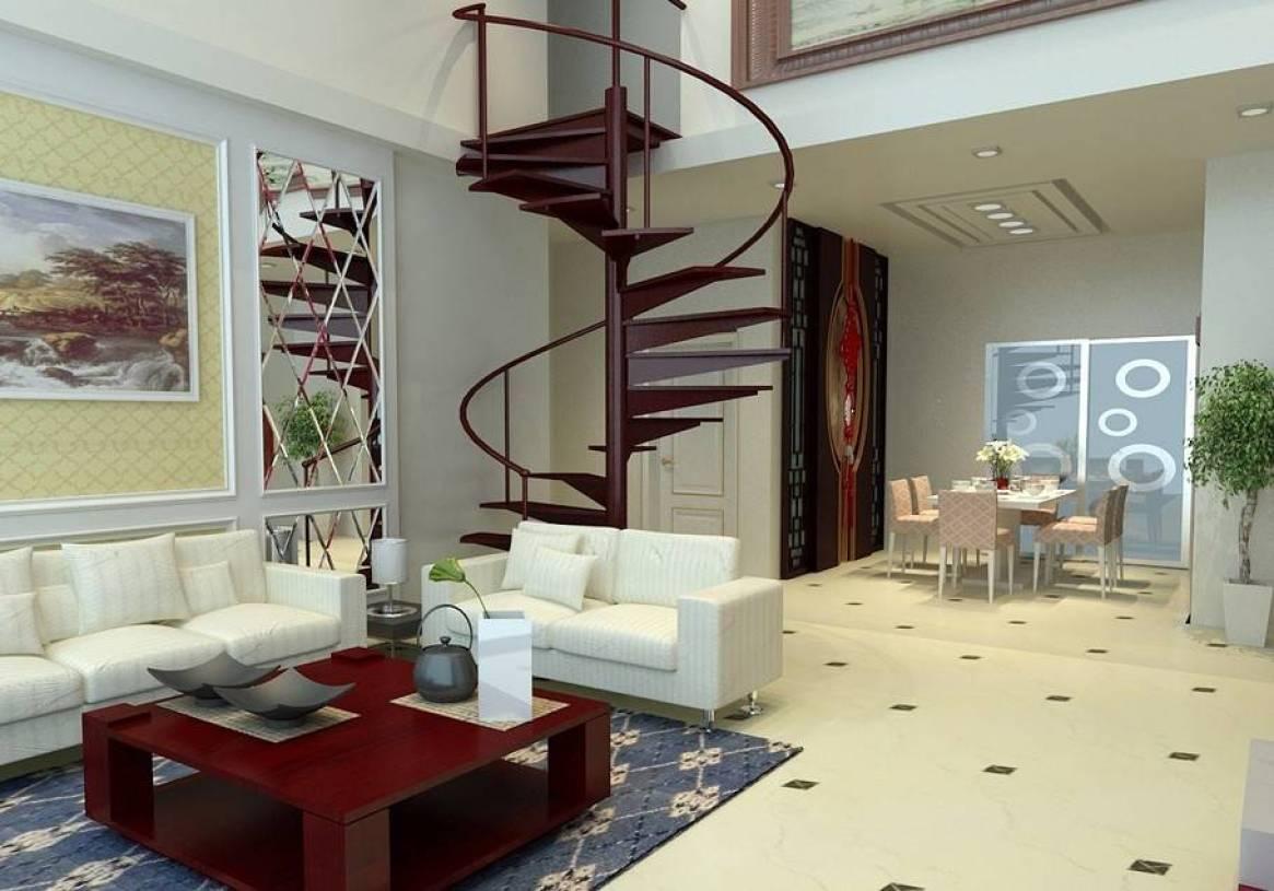 loft新中式风格客厅沙发背景墙装修效果图,loft新中式图片