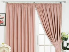 简欧风格小户型阳台窗帘杆装修效果图