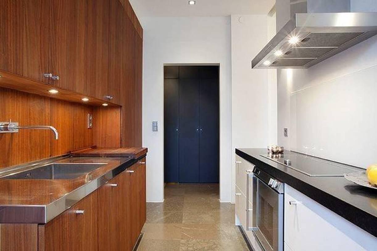 30平米单身公寓宜家一室一厅厨房吊顶装修图片,单身一