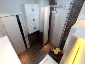 小型卫生间马赛克背景墙装修效果图