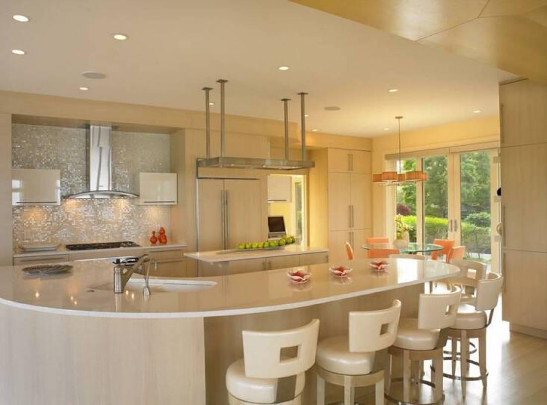 现代风格开放式厨房吧台装修效果图-现代风格吧台椅图片