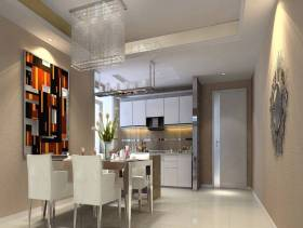 现代简约风格餐厅吊顶装修效果图-现代简约风格餐桌椅图片