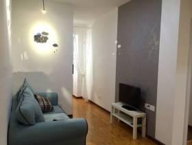 宜家风格小户型公寓客厅背景墙装修图片-宜家风格沙发图片