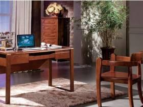 檀木中式书房家具图片
