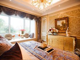 130平三房空间 营造出法式巴洛克风情