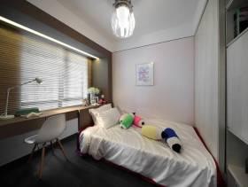 简约风格小卧室单人床图片
