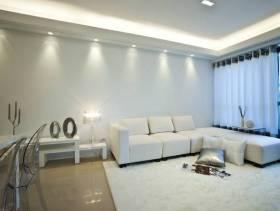 现代风格小户型客厅转角沙发效果图