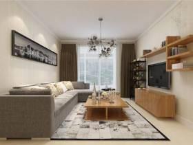 小户型客厅整体设计装修效果图