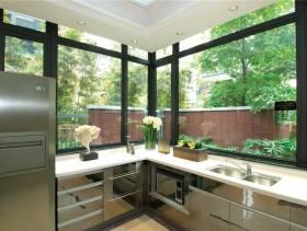 现代风格厨房吊顶装修图片-现代风格橱柜图片