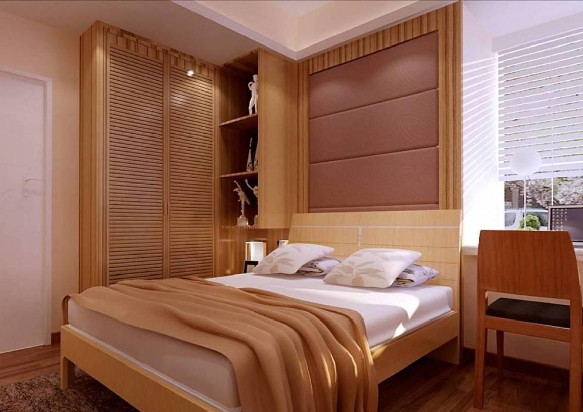 简约风格卧室床头背景墙装修效果图-简约风格衣柜图片图片
