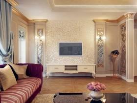最新欧式电视背景墙装修效果图
