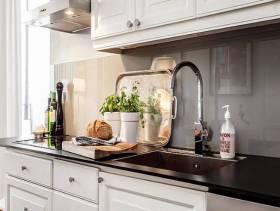 北欧风格厨房装修图片-北欧风格橱柜台面图片