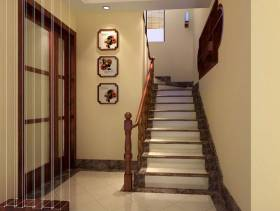 复式楼楼梯装修效果图