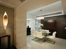 简约风格三居室餐厅背景墙装修图片-简约风格餐椅图片