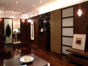 100㎡两室一厅现代风格客厅吊顶装修效果图-现代风格厨房门图片