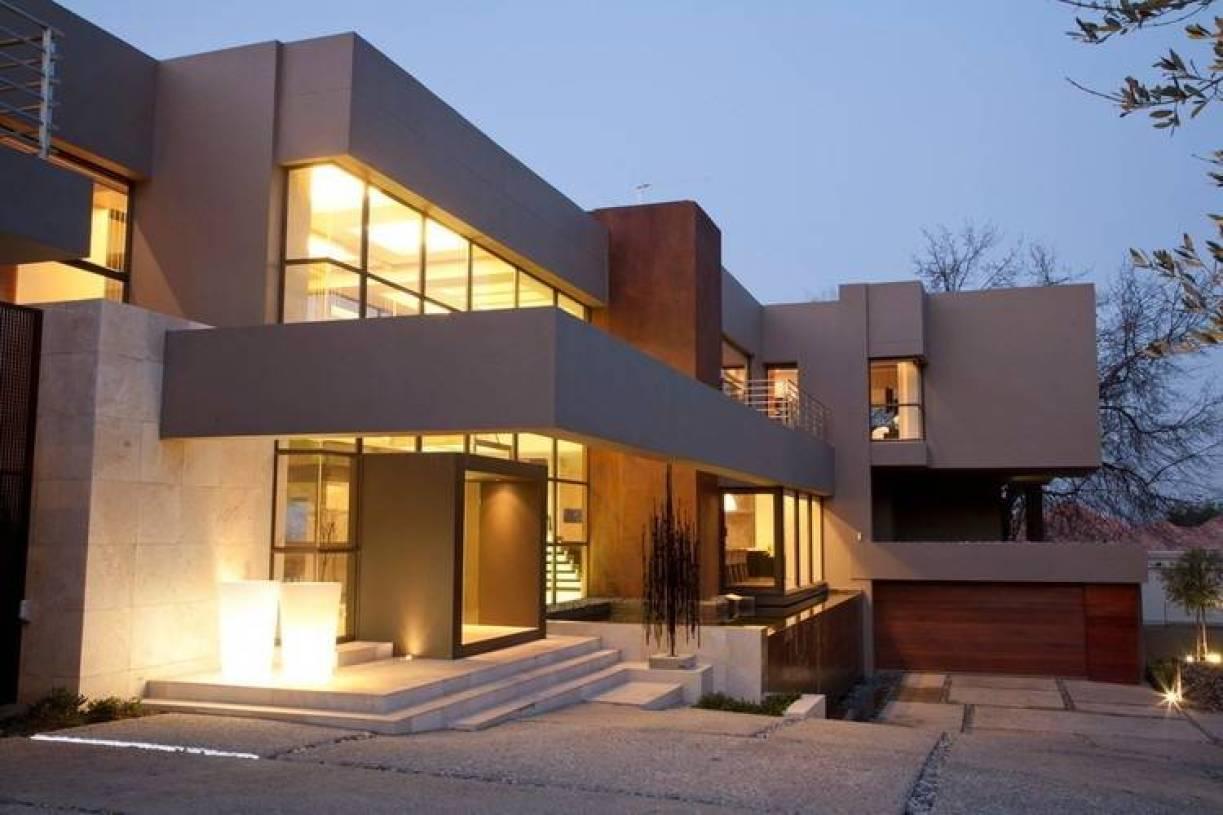 现代简约风格别墅外观装修图片