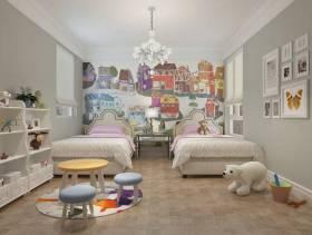 浪漫气息十足的女生卧室装修效果图