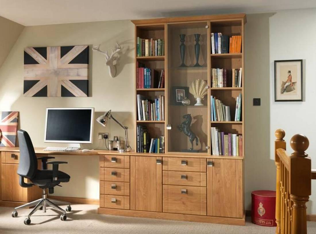 现代风格书房装饰画装修效果图-现代风格实木家具图片