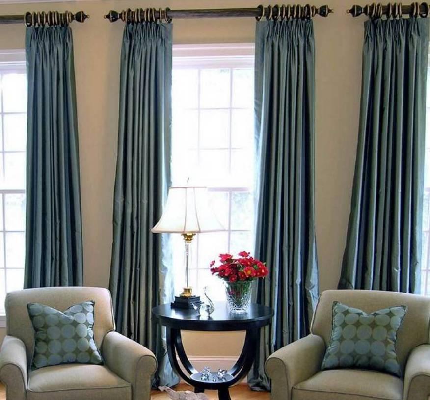简欧风格客厅装修效果图-简欧风格窗帘杆图片