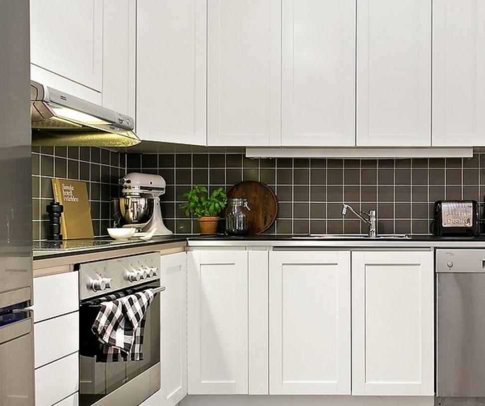 北欧风格厨房装修效果图-北欧风格壁柜图片