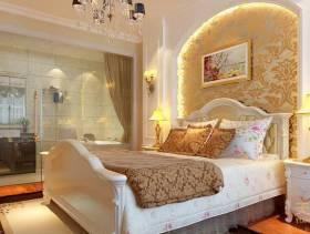 欧式风格卧室背景墙装修效果图,欧式风格吊顶图片