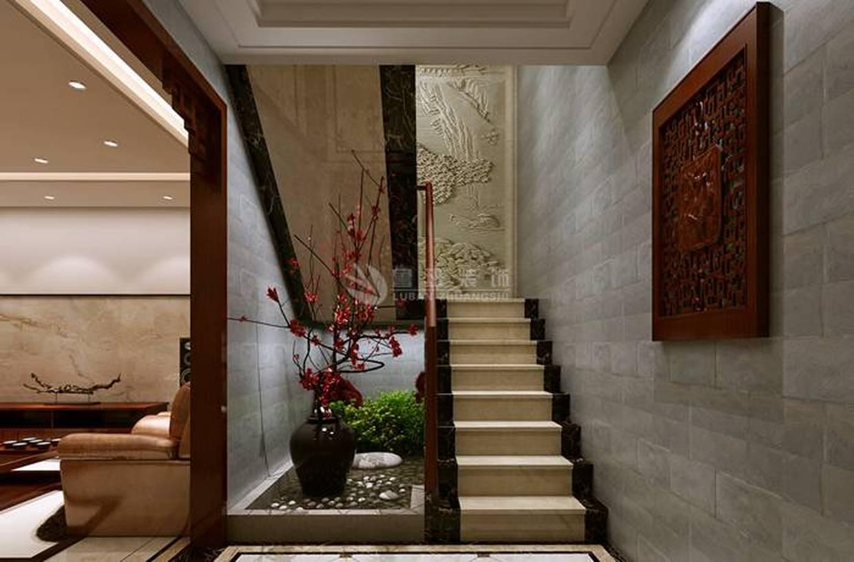 复式楼楼梯间装修效果图