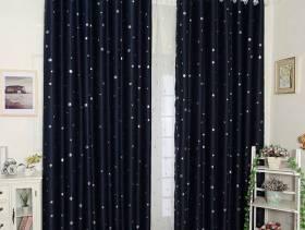 简欧风格阳台窗帘杆窗帘装修效果图-简欧风格花架图片
