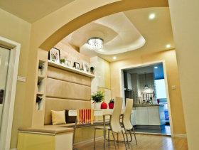 现代风格小户型一居室餐厅装修效果图