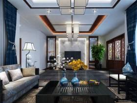 蔚蓝卡地亚新别墅客厅家具图片