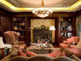 美式古典风格家居 演绎着低调的奢华与典雅