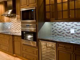 美式风格厨房装修图片-美式风格橱柜图片